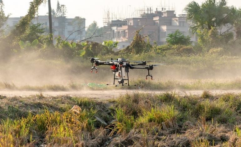 cámaras hiperespectrales para drones